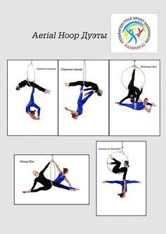 Aerial Hoop дуэты