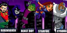 Teen Titans Still Love this show brings so many memories @Jaquelynn Reuland Reuland Reuland reyes