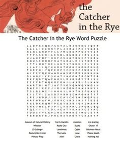 Catcher in the rye word choice