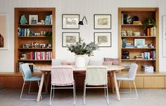 The Brighton home of the Emery family. Photo – Annette O'Brien. Production – Lucy Feagins / The Design Files.