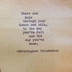 """Their tears were their love"" series poem #51, by Christopher Poindexter."