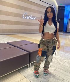 Boujee Outfits, Baddie Outfits Casual, Swag Outfits For Girls, Cute Swag Outfits, Dope Outfits, Teen Fashion Outfits, Summer Outfits, Black Girl Fashion, Tomboy Fashion