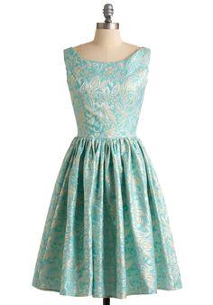 Go for Brocade Dress $184.99 ModCloth