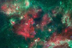 A cloud of gas and dust began to collapse 4.6 billion years ago, triggering the formation of Earth's sun and solar system. Pictured here: a much larger collection of gas and dust, spotted in the constellation Cygnus, which is about 4,500 light-years away.