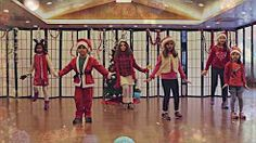 jingle bell zumba kids dance - YouTube