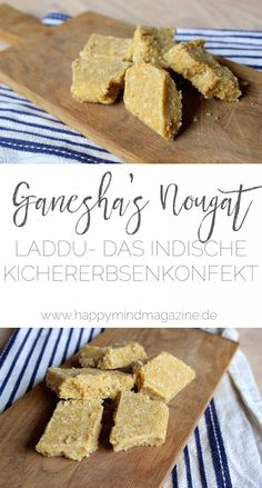 Laddu – das indische Kichererbsenkonfekt kannst du ganz einfach selber machen Laddu – you can easily make the Indian chickpea confection yourself Vegan Sweets, Healthy Sweets, Indian Food Recipes, Vegan Recipes, Vegan Crackers, Christmas Snacks, Sweets Cake, How To Eat Paleo, Confectionery