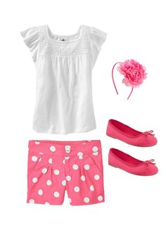 Girl's Style #tinystyle #girls #fashion #clothes #pink