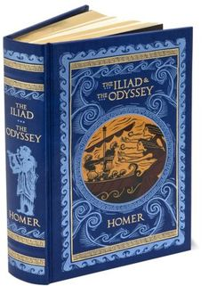 The Iliad and The Odyssey (Barnes & Noble Leatherbound Classics)