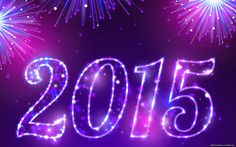Purple Happy New Year 2015 | home happy new year 2015 blue fire background wallpaper