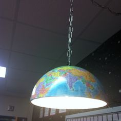 this would be really neat lighting in a classroom library area. Must make mine be its own electrical source. Classroom Layout, Classroom Setting, Classroom Design, School Classroom, Classroom Organization, Classroom Decor, Old Globe, Classroom Environment, Learning Spaces