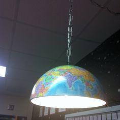 Globe classroom light