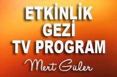 Etkinlik Gezi TV Programları pano kapağı