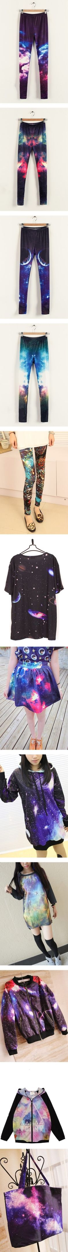 """""""Galaxy Print/Starry Sky Print"""" by oasap on Polyvore"""