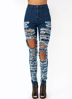 Destroyer High-Waisted Jeans