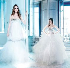 2009 Spring Summer bridal couture from Max Chaoul - Miami and Explosive wedding gowns