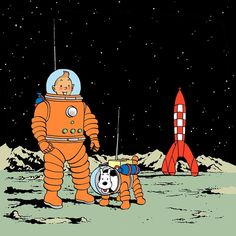 Tin Tin Cartoon, Cartoon Art, Comic Books Art, Comic Art, Herge Tintin, Ligne Claire, Popular Art, Fun Comics, Book Of Life