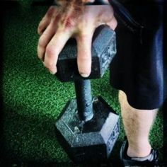 claw grip strength...learn more about grip strength here:  http://fightcampconditioning.com/grip-strength/