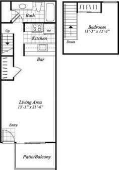 Super Simple Studio Floor Plan Ideas Pinterest