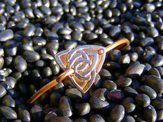 Celtic Knot Bracelet. Etched Quarter Bracelet by ManMadeDesign. Celtic Jewelry. Celtic Bracelet. Irish Bracelet. Celtic Knot Jewelry