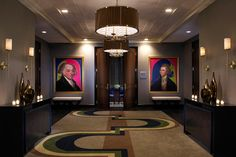 Philadelphia's Palomar Hotel features a contemporary art-filled lobby and artistic flare throughout the hotel. It is within walking distance of some of Philadelphia's finest art collections and galleries. View the slideshow!