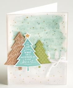 Stampin' Up Perfect Pines