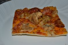 Mi Diversión en la cocina: Pizza de Ibéricos y Setas