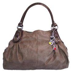 Large Charm Hobo Handbag  #hobohandbag #charm #bag #tote #purse
