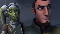 "(made up dialogue) HERA: (slow claps) KANAN: ""Don't worry I got it this!"" HERA: ""Right. That's what you said last time!"" KANAN: ""No, really! It's all under control!"""