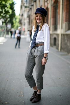From Fashionising.com – Best Paris Womens Street Style