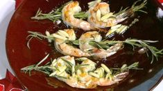 Michael Symon's Rosemary Shrimp  with Almonds