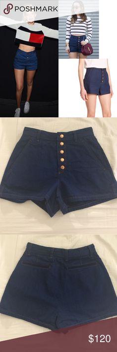 Rag & Bone Branson high waist denim shorts 00 Worn once,washed once,in pristine condition,❌NO TRADE‼️ rag & bone Shorts Jean Shorts