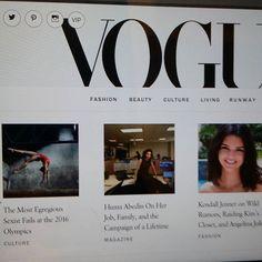 VOGUE NEWS&TRENDS...Watch, Follow&ENJOY FASHION. Recommended. ☝❤@voguemagazine @voguerunway #VOGUE #fashion #world #seasons