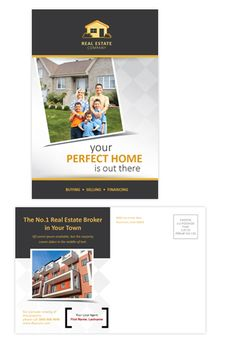 Real estate postcard template will be a good choice for presentations on real estate. Find postcard templates - download, edit & print! http://dlayouts.com/13-All-Items/715-Real-Estate-Postcard-Template/flypage.tpl.html