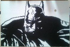 Batman perle de hama