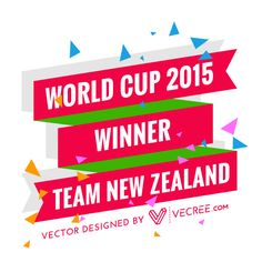 Vector Free Download, Free Vector Graphics, Vector Design, World Cup, New Zealand, Celebration, World Cup Fixtures