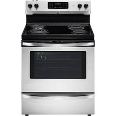 """Buy 30"""" Freestanding Self-Clean Convection Electric Range, Stainless Steel Online & Reviews"""