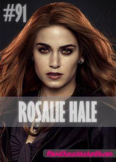 ROSALIE HALE  Played By: Nikki Reed Film: Twilight / New Moon / Eclipse / Breaking Dawn Part 1 / Breaking Dawn Part 2 Year: 2008 / 2009 / 2010 / 2011 / 2012
