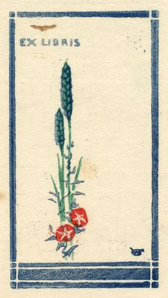 Ex Libris by William Giles (1879-1939) - c. 1920