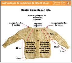 Jacket Or Sweater Archives - Mundo Croch - Diy Crafts - Qoster Diy Crochet Cardigan, Baby Cardigan Knitting Pattern Free, Knitted Baby Cardigan, Baby Pullover, Cardigan Pattern, Baby Knitting Patterns, Cute Crochet, Crochet For Kids, Crochet Baby