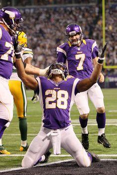 Adrian Peterson // Minnesota Vikings #junkfoodclothing #JunkFoodNFL