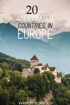 Underrated countries in Europe Underrated travel destinations Europe travel tips Travel bucket list Travel inspiration wanderlust Europe tips Europe travel destinations Backpacking Europe, Europe Travel Tips, Travel Advice, Travel Guides, Travel Destinations, Travelling Tips, Travel 2017, Rv Travel, Canada Travel