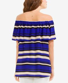 f5c28b086df3ae Vince Camuto Cold-Shoulder Top - Tops - Women - Macy s