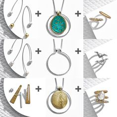 Silpada creative spark cubic zirconia 925 sterling silver necklace did you know there are five ways to wear the convertible color necklace check out other versatile pieces like the convertible elements earrings and aloadofball Images