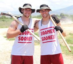 Oklahoma football players and twin brothers Trevor & Connor Knight traveled to Haiti. No time wasted- What did you do? Boomer Sooner, Tim Tebow, Angels Among Us, Twin Brothers, Haiti, Football Players, Spring Break, Evolution, Twins