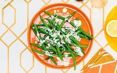 Crunchy French bean salad with a punchy tarragon dressing