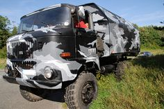 Urban camo SNUB x LEEKS Camo IFA Truck