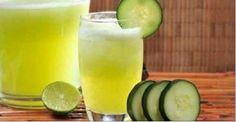 Este suco natural ajuda você a perder peso e a ter um corpo alcalino. #Saúde #PerderPeso #CorpoAlcalino #Emagrecer