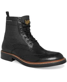 G-Star RAW Men's Shoes, Trent Ledger Hi Mix Boots - Boots - Men - Macy's