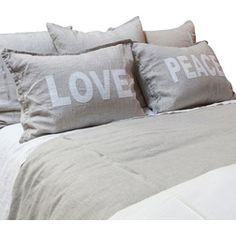 Farmhouse Pillowcases And Shams by Bliss Home & Design