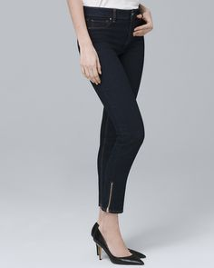 cddf33cb2c9331 Women s Mid-Rise Crop Jeggings by White House Black Market Petite Outfits